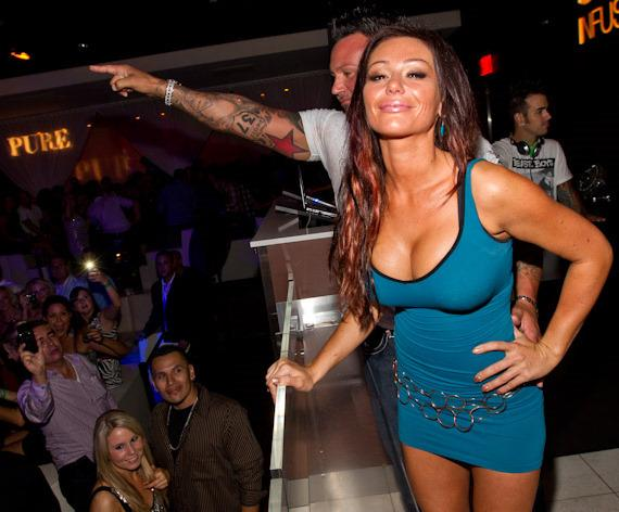 'Jersey Shore' star Jenni &quot;JWoww&quot; Farley parties at PURE Nightclub