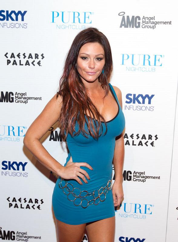 'Jersey Shore' atar Jenni &quot;JWoww&quot; Farley at PURE Nightclub