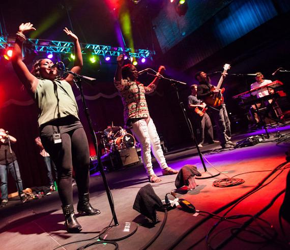 Groundation performs at Brooklyn Bowl Las Vegas at The LINQ