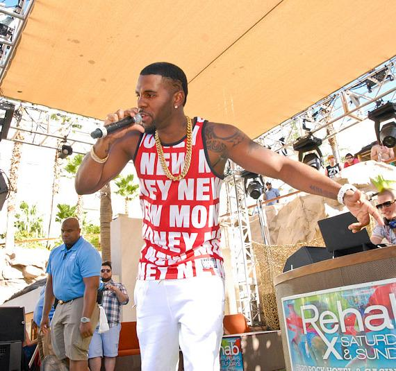 Jason Derulo performs at REHAB at Hard Rock Hotel & Casino in Las Vegas