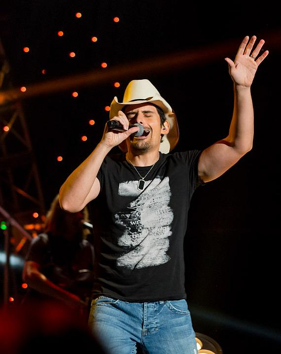 Brad Paisley performs at Mandalay Bay Events Center in Las Vegas