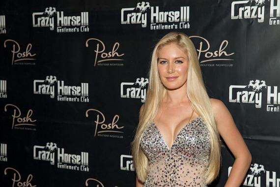 Heidi Montag on red carpet at Crazy Horse III in Las Vegas