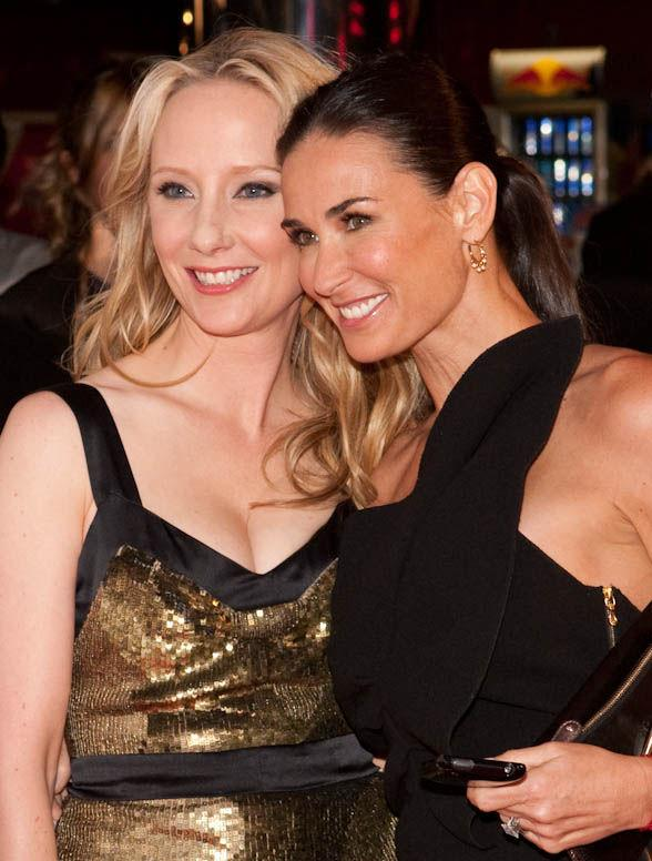 Anne Heche and Demi Moore