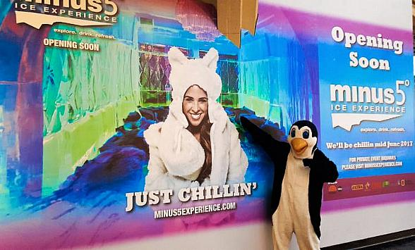 Minus5 Ice Experience to Open Third Las Vegas Location Inside The Grand Canal Shoppes at The Venetian