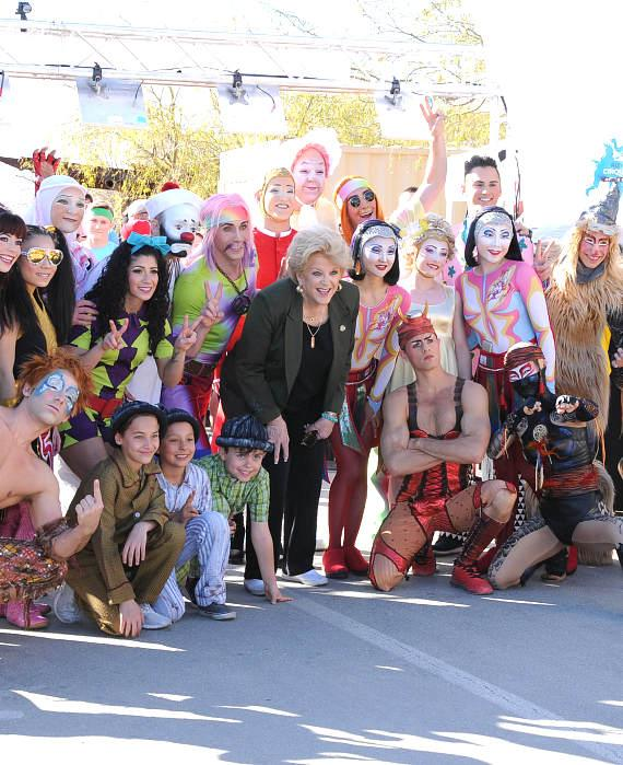 Mayor Carolyn Goodman kicks off the race again this year at Run Away with Cirque du Soleil