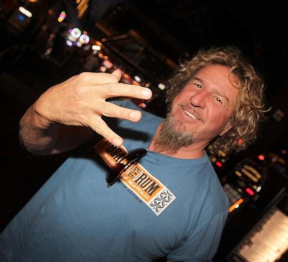 Sammy Hagar spotted in Hard Rock Hotel & Casino