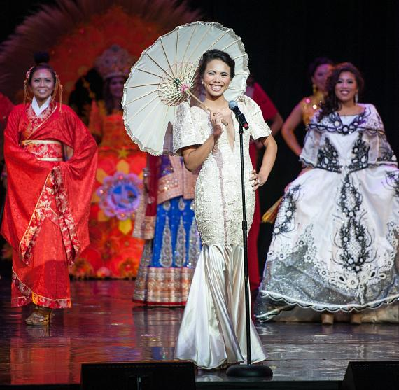 MISS Delegate Karenn Beltran during Ethnic Costume Segment