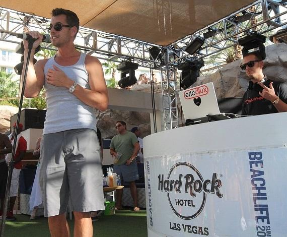 Nick Hexum performs at Rehab at Hard Rock Hotel & Casino
