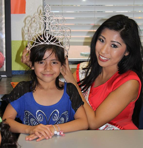 "Miss Asian Las Vegas Promotes ""International Literacy Day"" with Visit to Boys & Girls Clubs of Southern Nevada"