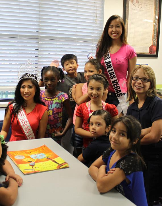 Miss Asian Las Vegas Promotes International Literacy Day at Boys & Girls Clubs of Southern Nevada