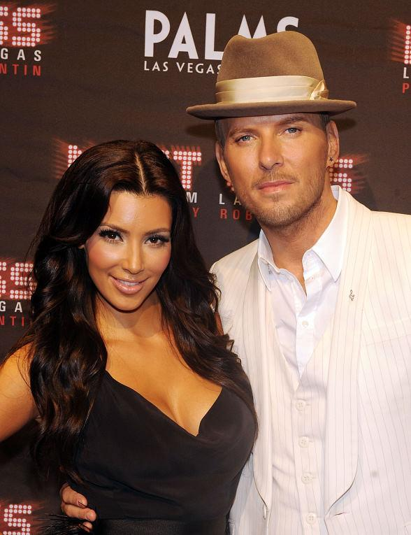 Kim Kardashian and Matt Goss