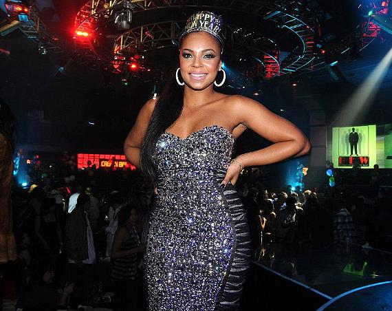 Ashanti hosts NYE at Crown Nightclub at The Rio in Las Vegas