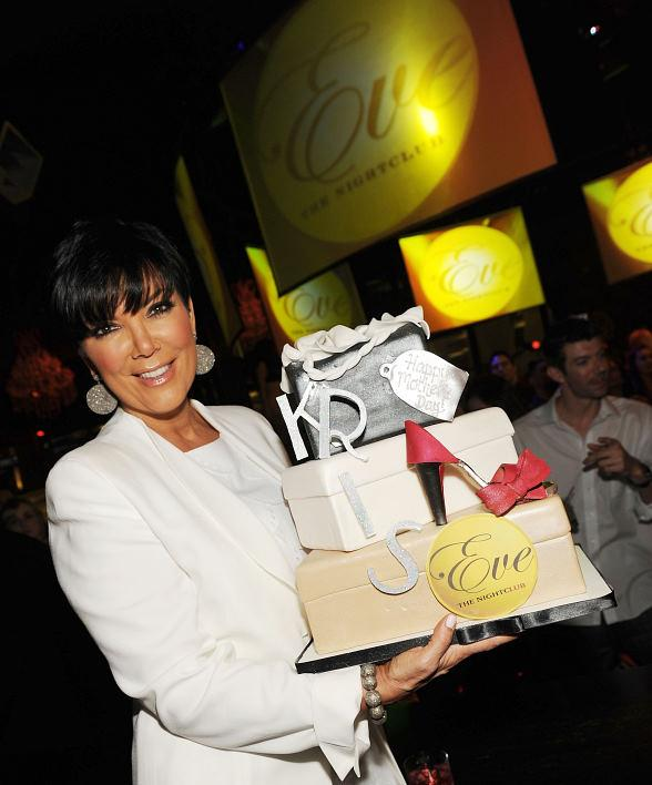 Kris Jenner Celebrates Mother's Day at EVE Nightclub