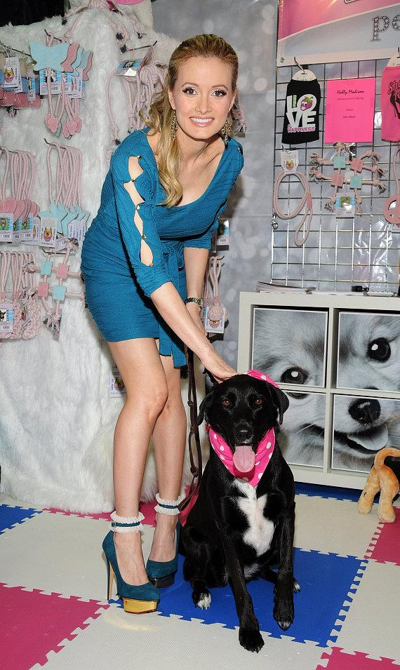 Holly Madison at SuperZoo 2012 Convention at Mandalay Bay