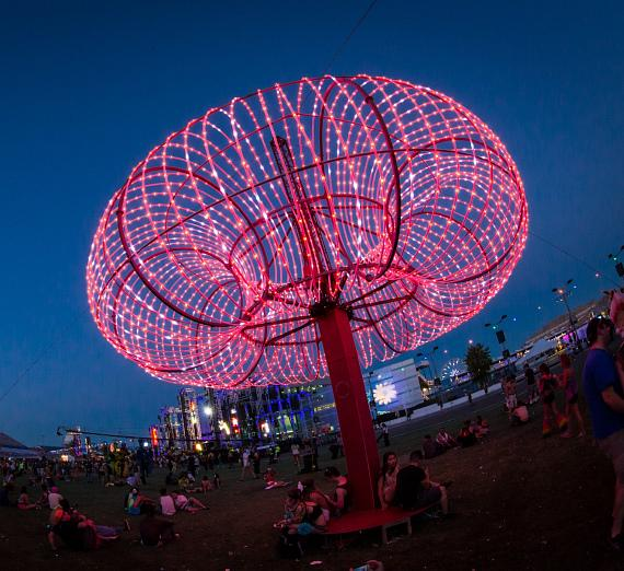 16th Annual Electric Daisy Carnival in Las Vegas - Day 2 Photos