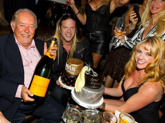 Robin Leach and Michael Boychuck