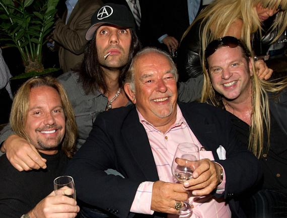Vince Neil, Robin Leach and Michael Boychuck