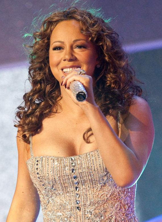 Mariah Carey performs at The Pearl at The Palms in Las Vegas