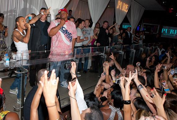 Bow Wow performs at PURE Nightclub in Las Vegas