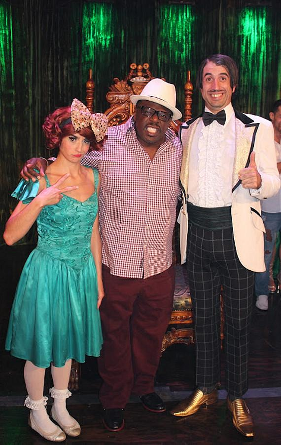 Penny Pibbets, Cedric the Entertainer and The Gazillionaire