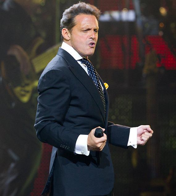 Luis Miguel performs at The Colosseum at Caesars Palace in Las Vegas