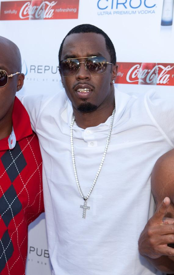 """Sean """"Diddy"""" Combs hosts at at WET REPUBLIC"""