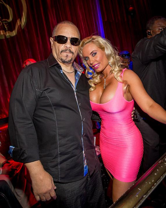 Coco and Ice-T at LAX Nightclub