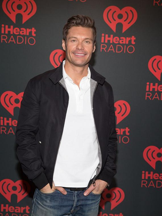 Ryan Seacrest at iHeartRadio Music Festival