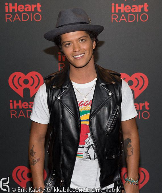 Bruno Mars on Day 2 of iHeartRadio Festival in Las Vegas