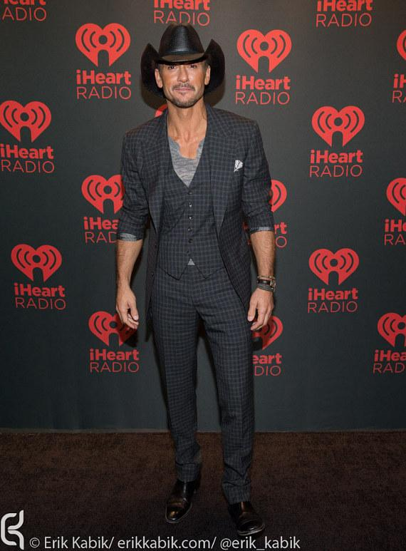 Tim McGraw on Day 2 of iHeartRadio Festival in Las Vegas