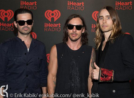 30 Seconds To Mars on Day 2 of iHeartRadio Festival in Las Vegas