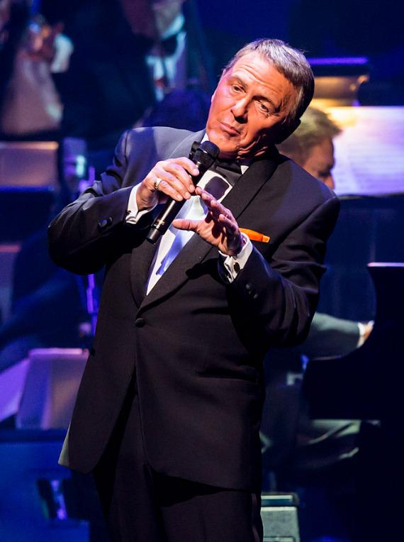 Frank Sinatra tribute at The Nevada Sesquicentennial All-Star Concert