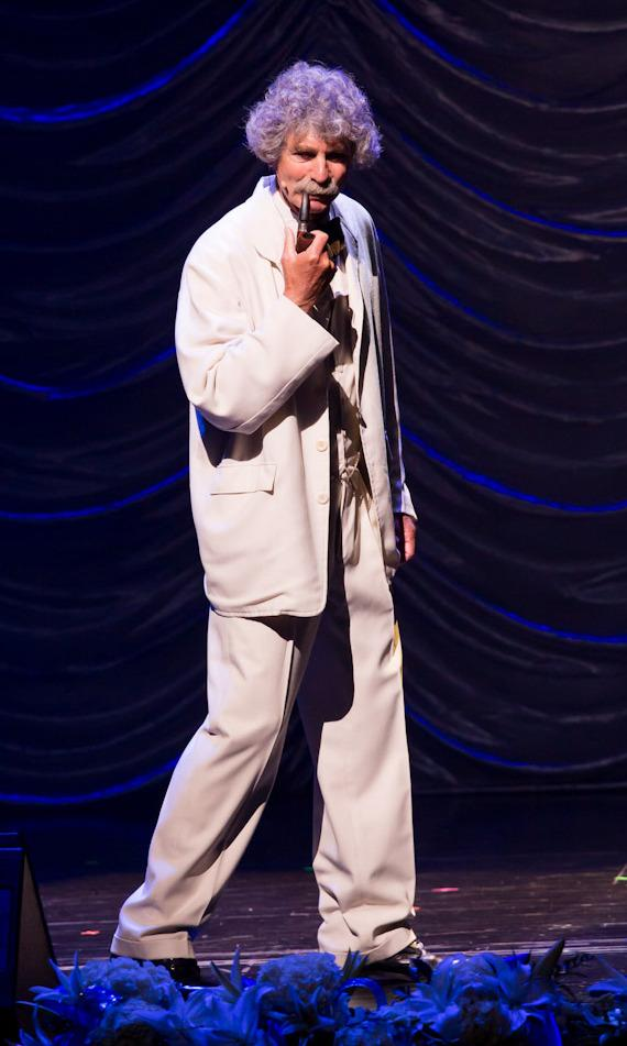 Mark Twain tribute at The Nevada Sesquicentennial All-Star Concert