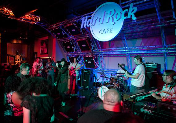 Moksha on the New Hard Rock Cafe stage
