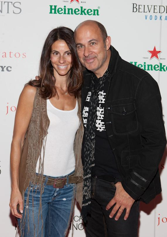John Varvatos and wife Joyce