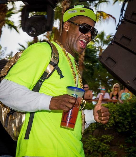 R. Kelly at REHAB Pool Party at Hard Rock Hotel & Casino in Las Vegas
