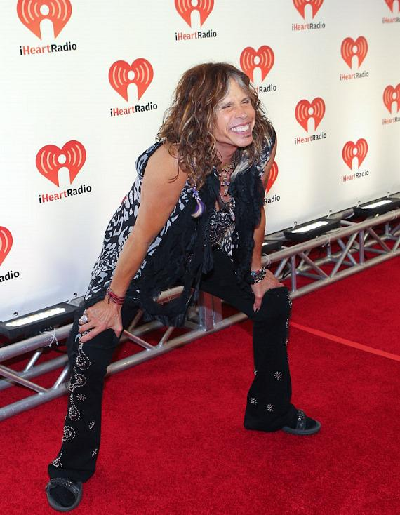 Steven Tyler at iHeartRadio Music Festival