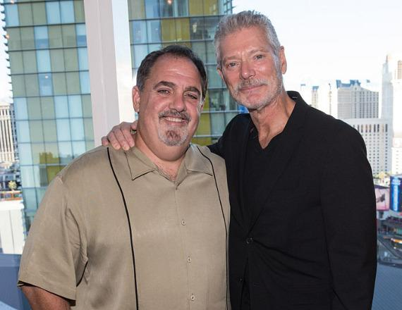 Producer Jon Landau and actor Stephen Lang