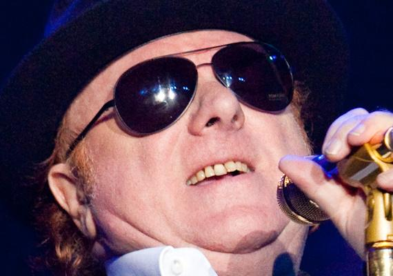 Van Morrison performs at The Joint