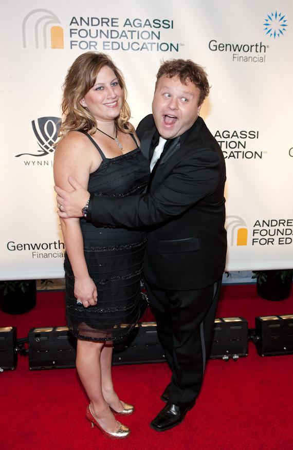 Michelle Caliendo and Frank Caliendo