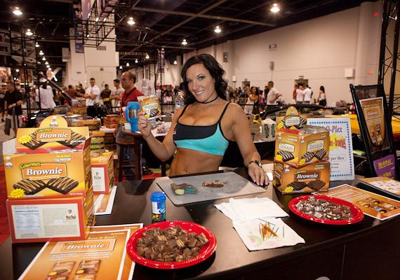Chef Jay's Food Products at Joe Weider's 2009 Olympia Weekend