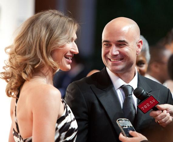Stefanie Graf and Andre Agassi