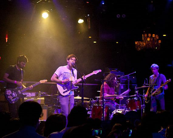 The Lonely Forest perform at Body English at Hard Rock Hotel & Casino in Las Vegas
