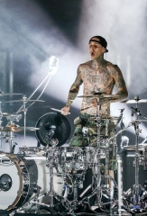 Travis Barker Hosts Concert After-Party at Hyde Bellagio Saturday, October 11