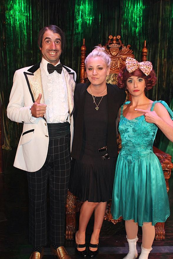 Kaley Cuoco at ABSINTHE in Las Vegas
