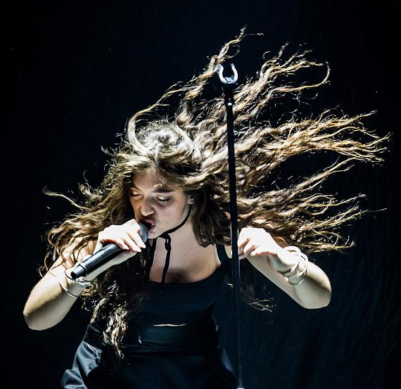 Lorde performs at The Joint at Hard Rock Hotel & Casino in Las Vegas