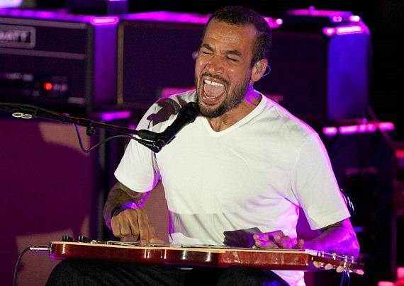 Ben Harper performs at The Boulevard Pool at The Cosmopolitan Of Las Vegas