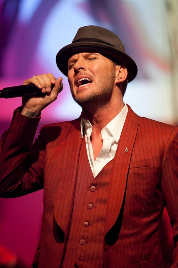 Matt Goss in The Gossy Room at The Palms