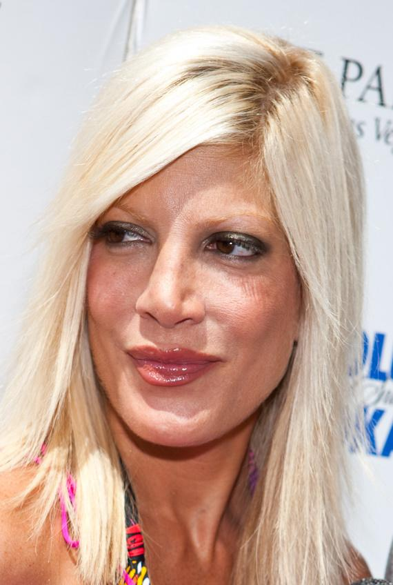 Tori Spelling at AZURE