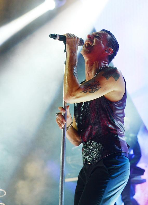 Depeche Mode performs at The Pearl inside Palms Casino Resort in Las Vegas